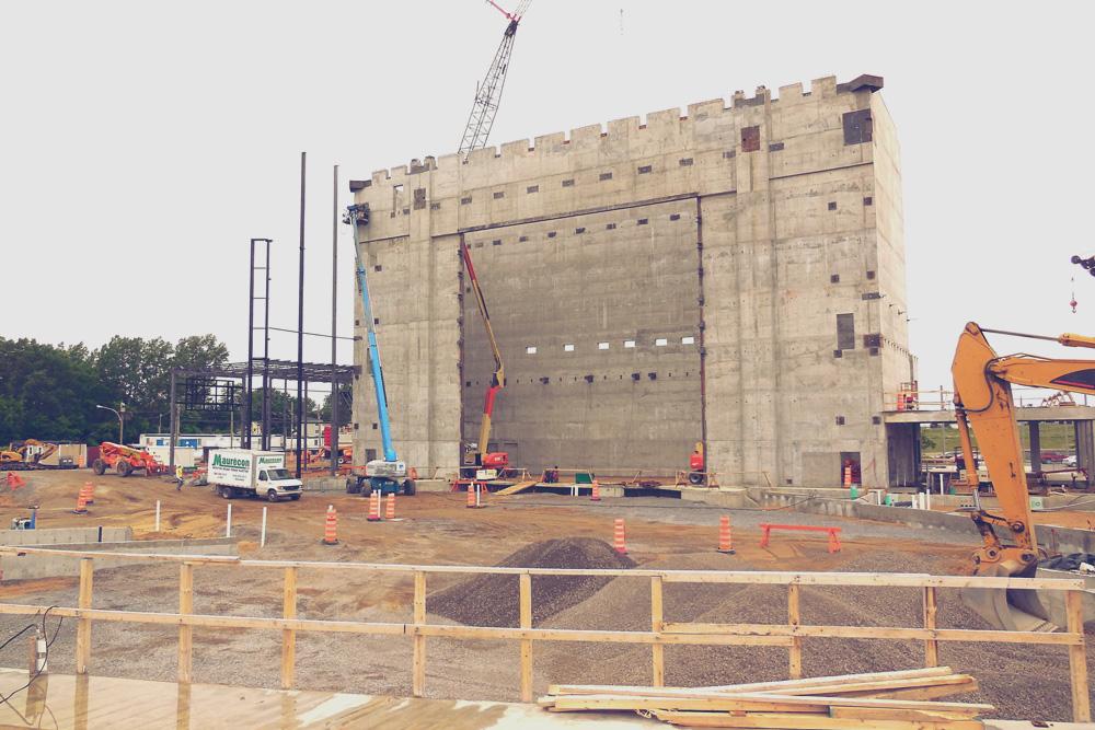 Structure du bâtiment - Service de Pluritec - Firme d'ingénieurs-conseils